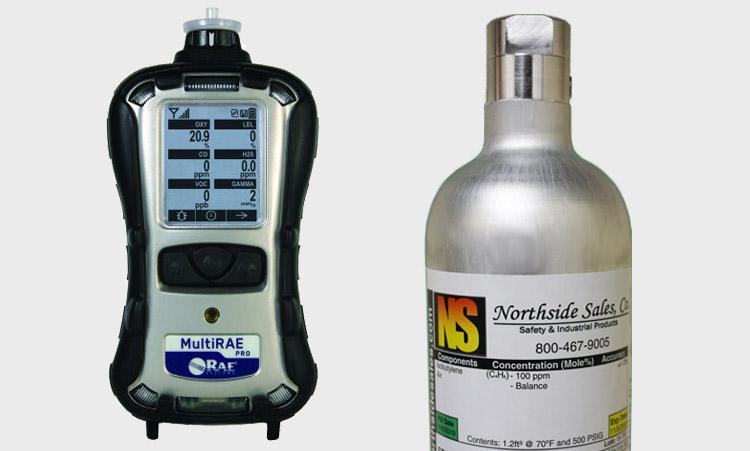 Calibration Gas for MultiRAE PRO