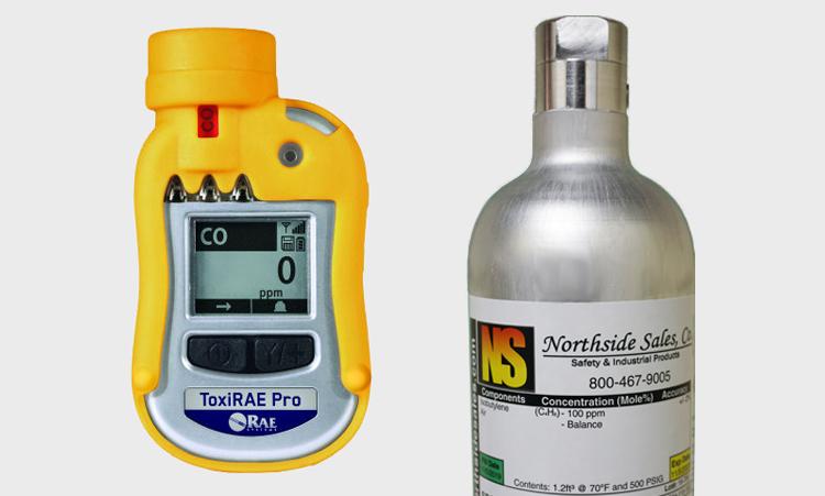 Calibration Gas for ToxiRAE Pro