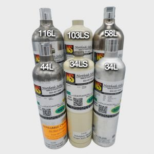 Nitric Oxide 25ppm Calibration Gas for RAE Systems Monitors